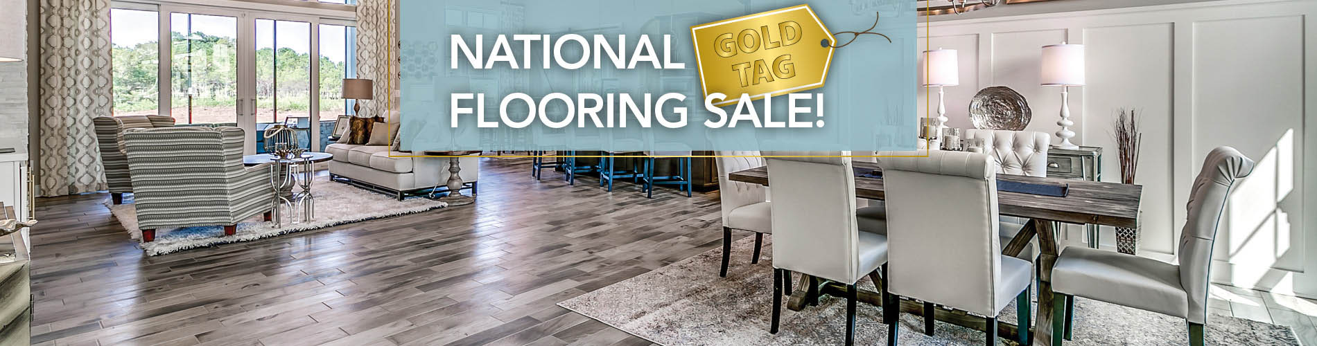 Save big during the National Gold Tag Flooring Sale!