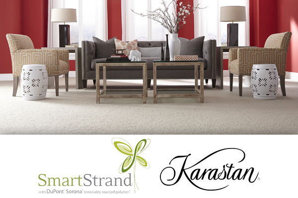 Save on Karastan Carpet this month! Impressive nature $5.52 sf Luxurious appeal $ 4.89 sf Dynamic display $5.79 sf includes basic installation and premium foam cushion