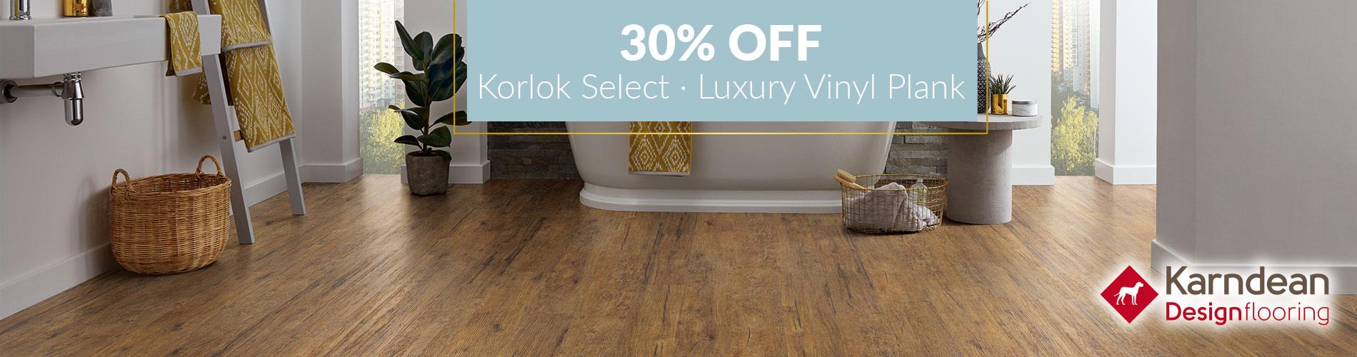 30 Off Karndean Korlok Select Lvp Carpet Vinyl Tile