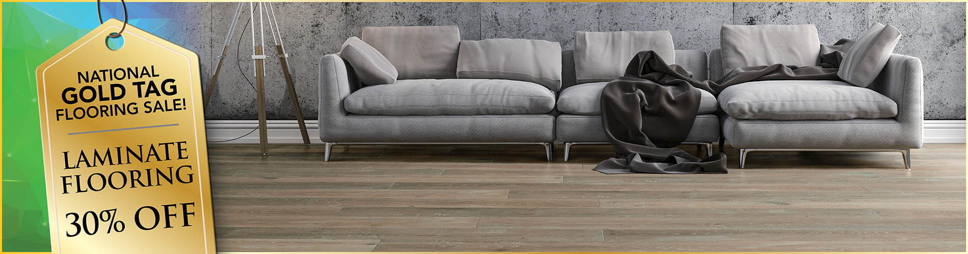 Laminate flooring on sale 30% off!